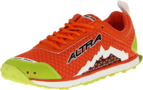 Altra Women's The Lone Peak 1.5 Trail Running Shoe,Orange/Lime,10 B US