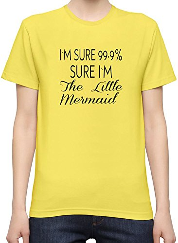 I'm 99.9% Sure I'm The Little Mermaid Funny T-Shirt per Donne XX-Large