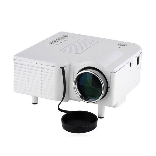 Mini Led Digital Display Projector Portable Media Player W/Hdmi, Av,Sd Card Slot