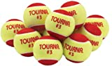 Tourna Low Compression Quickstart Tennis Balls for 36-Feet Court (Pack of 12)