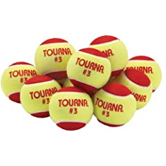 Buy Unique Sports Low Compression Quickstart Tennis Balls for 36-Feet Court (Pack of 12) by Unique now!