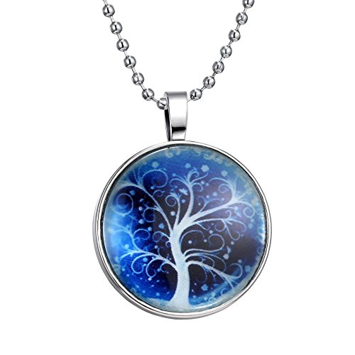 Is-Steampunk-Style-Halloween-Party-with-Dream-Tree-Glow-in-Dark-Flashing-Silver-Tone-Necklace-236inches
