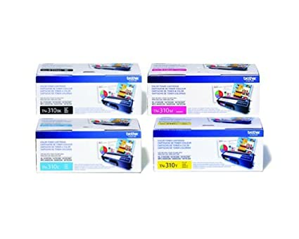 Brother Part TN310BK TN310C TN310M TN310Y OEM Toner