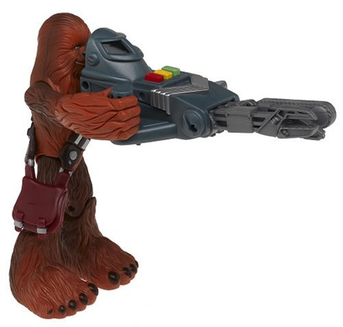 Star Wars Jedi Force Chewbacca Action Figure with Wookie Action Tool