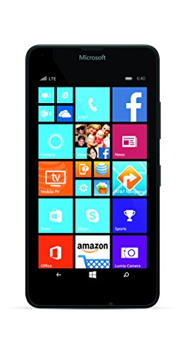 Nokia Lumia 640 (AT&T Go Phone) No Annual Contract