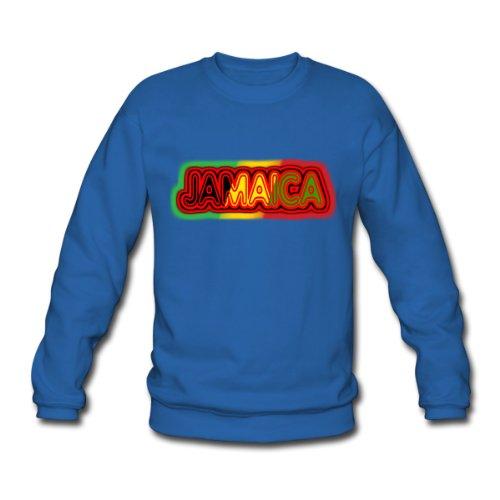 Spreadshirt, jamaica, Men's Sweatshirt, royal blue, L