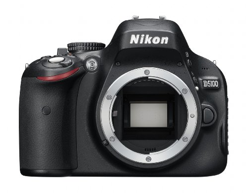 Nikon D5100 Digital SLR Camera Body Only (16.2MP) 3 inch LCD
