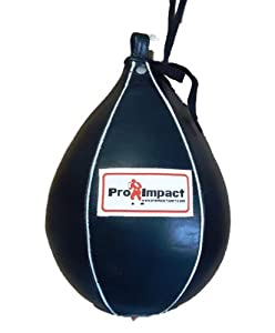 "Pro Impact Genuine Leather Speedbag Punch Bag M - 7""x10"""