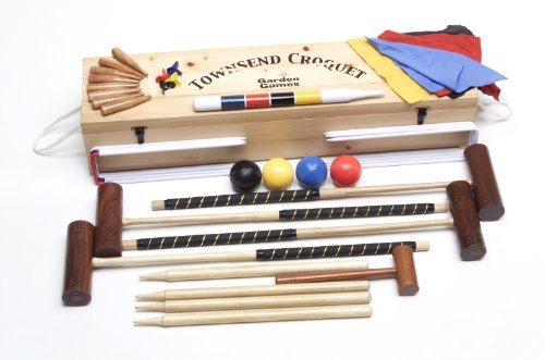 Garden Games Limited Townsend 4 Player Croquet Set