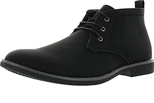 13. Arider Cooper-03 Men's High-Top Lace Up Chukka Ankle Booties