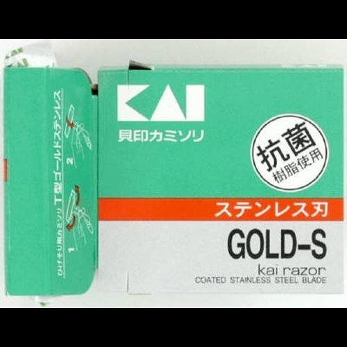 KAI T型ゴールドステンレス 5個