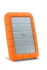 LaCie Rugged All-Terrain 1 TB FireWire 800/FireWire 400/USB 2.0 Portable External Hard Drive 301924