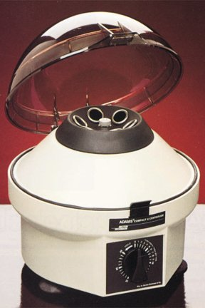 Centrifuge, Clay Adams Compact II. w/ timer and angle rotor () (Manual Centrifuge compare prices)