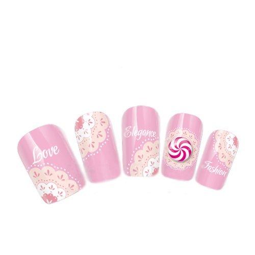 come-2-buy-nail-art-tatoo-wrap-trasferimento-dell-acqua-adesivi-rosa-pallido-a-centrino-dot-design-f