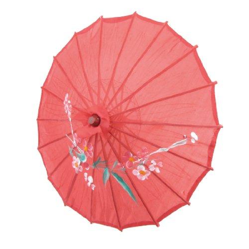 flower-print-red-cloth-bamboo-21-dia-chinese-oriental-umbrella-parasol