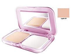 Maybelline Clear Glow All in One Fairness Compact Powder 9gm with Ayur Product in Combo (01-Light)