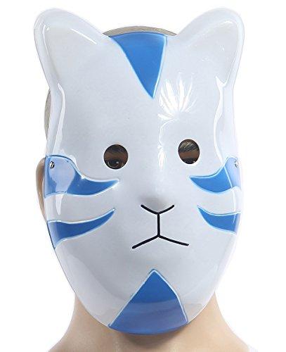 XCOSER Halloween Kakashi Anbu Mask Cosplay Accessory Blue