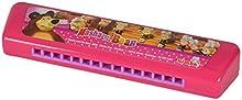 Simba 109306602 - Masha y el oso rosado armónica 15-voz