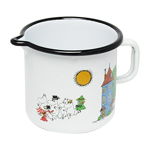 Moomin enamel jug Moomin Valley Murura (muurla) 7197 [ pitcher milk jar goods Nordic tableware moomin goods ] by Murura (muurla) [並行輸入品]