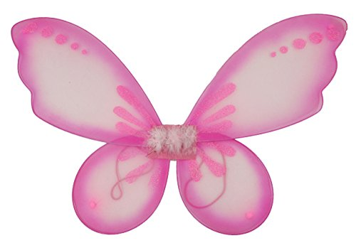 Hairbows Unlimited Pixie Wings (Light Pink) (Pink Butterfly Adult Wings)