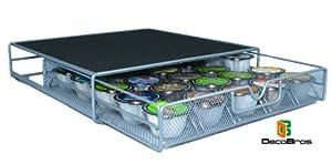 Keurig Vue Cup Storage Drawer Holder for 25 Vue Pods Packs by DecoBros®