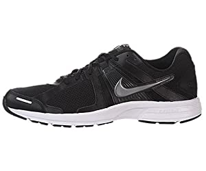 Nike Men's NIKE DART 10 RUNNING SHOES 9.5 Men US (BLK/MTLC CL GRY/ANTHRCT/WHITE)