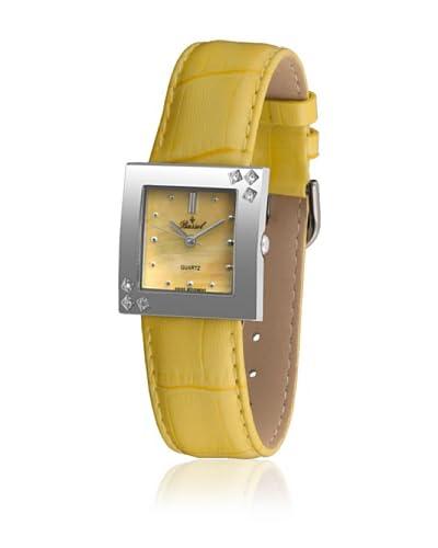 Bassel Reloj con movimiento cuarzo suizo 60111AM Amarillo 27  mm