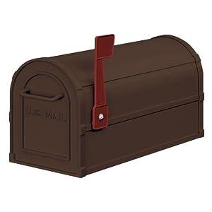 Salsbury Industries 4850A-BRZ Antique Rural Mailbox, Bronze