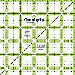 Dritz Omnigrip Non Slip Quilters Ruler 5 1/2