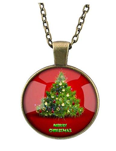 Darkey Wang Woman Fashion Santa Retro Time Gem Crystal Necklace£¨2#£©