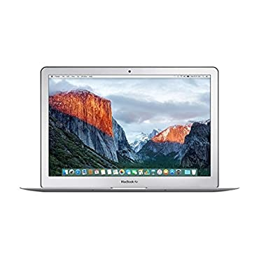 Apple MacBook Air 13.3  MMGF2LL/A Laptop with OS X El Capitan (8GB RAM, 128GB SSD, Intel Core i5, 2016 Version)