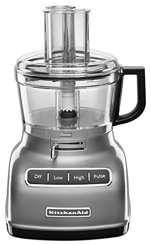 KitchenAid KFP0722CU 7-Cup Food Processor with Exact Slice System - Contour Silver (Cup Kitchenaid compare prices)