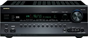 Onkyo TX-NR708 7.2-Channel Network Home Theater Receiver (Black)
