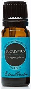 Eucalyptus 100% Pure Therapeutic Grade Essential Oil- 10 ml