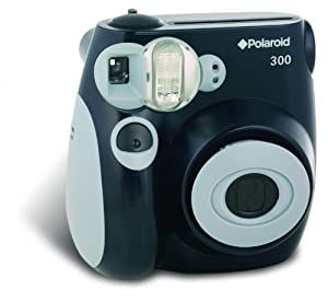 Polaroid 300 Instant Camera - Black