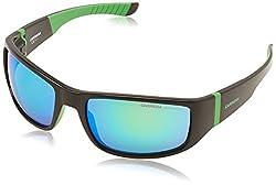 Carrera Sport Sunglasses (Black and Green) (Carrera-4000S-2Df29)