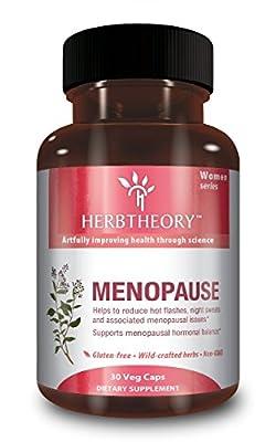 Herbtheory Menopause - Natural Herbal Dietary Supplement, 30 Vegan Capsules
