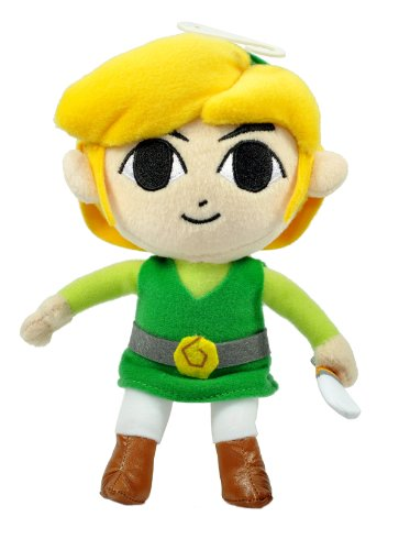 "Little Buddy Official Zelda Plush - 7"" Link"