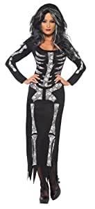 Déguisement de Squelette Femme (Taille 36/38)