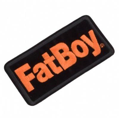 Emblem Patch - Fat Boy - Harley-Davidson