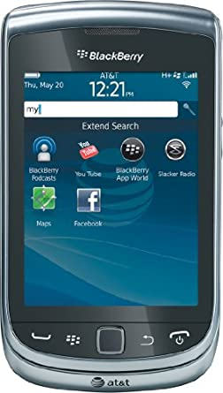 BlackBerry Torch 4G 9810 Phone (AT&T)