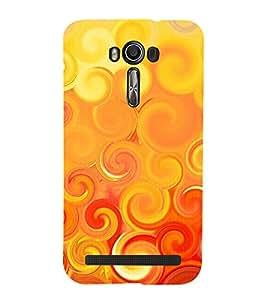 printtech Abstract Design Back Case Cover for Asus Zenfone 2 Laser ZE601KL