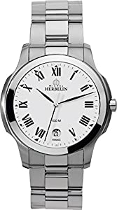 12239/B01 Michel Herbelin Gents Quartz Stainless Steel Ambassador bracelet watch