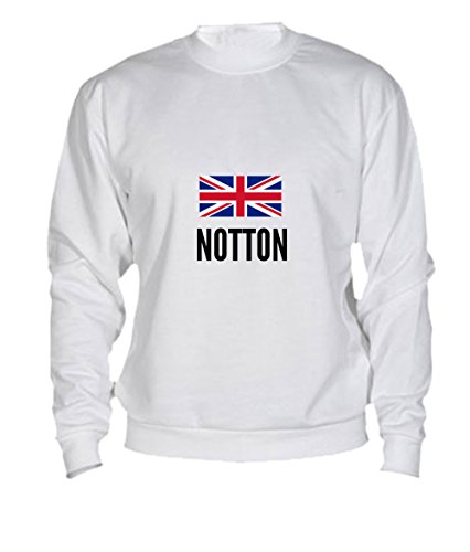 Felpa Notton city White