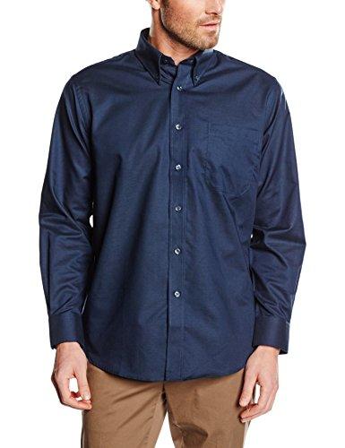 fruit-of-the-loom-oxford-chemise-business-homme-bleu-bleu-marine-xxx-large