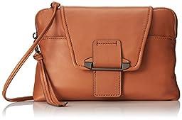 Kooba Handbags Emery Metallic Clutch, Rose Gold, One Size