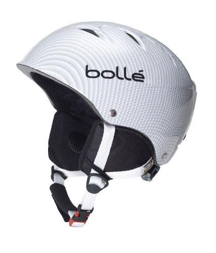 Bolle B-Kid Snow Helmets, Shiny Light Carbon, 53-57cm