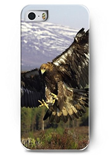Ouo Stylish Series Case For Iphone 5 5S 5G With The Design Of Moment Of Eagle Fall To The Ground