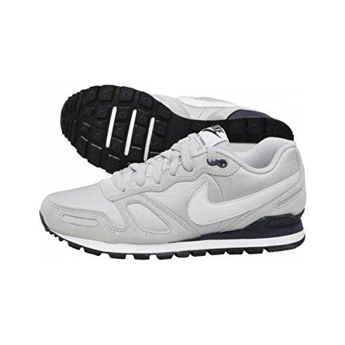 Nike Air Waffle Trainer, Herren Laufschuhe, Grau (Pure Platinum/White-Obsidian 095), 47.5 EU