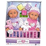 You & Me 14 inch Chat & Cuddle Twins Dolls